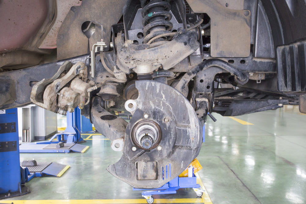 What Components of the Suspension or Steering Systems Are