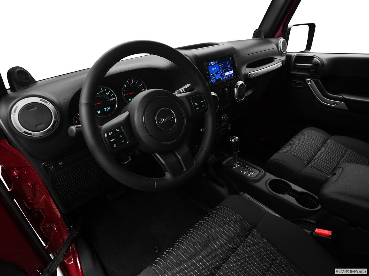jeep wrangler 2012 interior