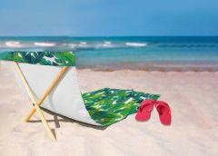 מגבת חוף עם משענת גב