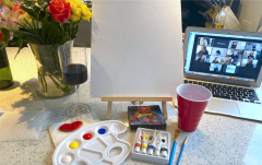 Paint and Party (Virtually)!