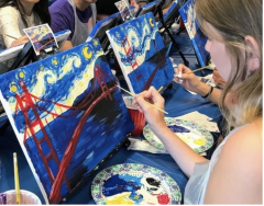 Canvas Painting Party