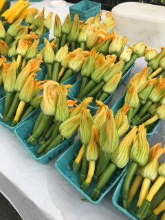 Farmer's market tour and cooking class