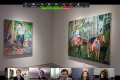 Virtual Art Gallery Tour