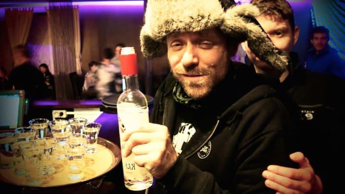 porter un toast - Russie