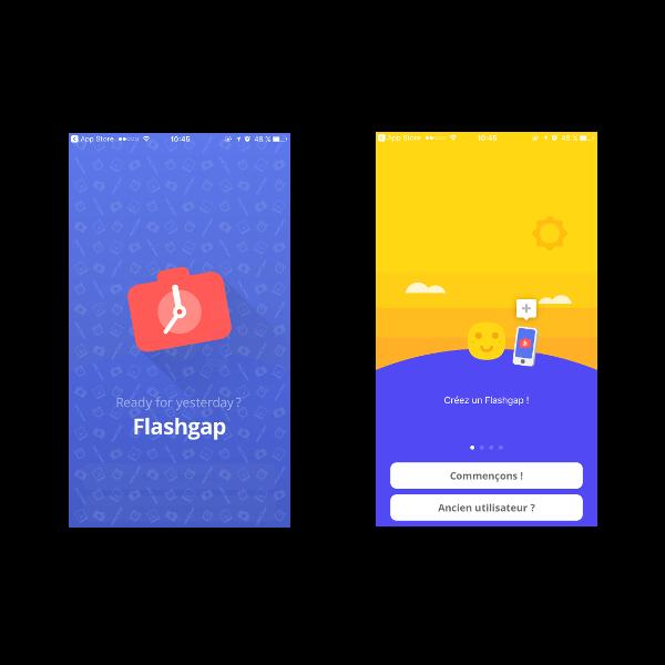 l'appli Flashgap - meilleures applis pour sortir