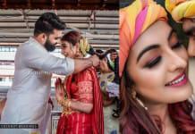 Actress Durga Krishna ties the knot with Arjun Ravindran