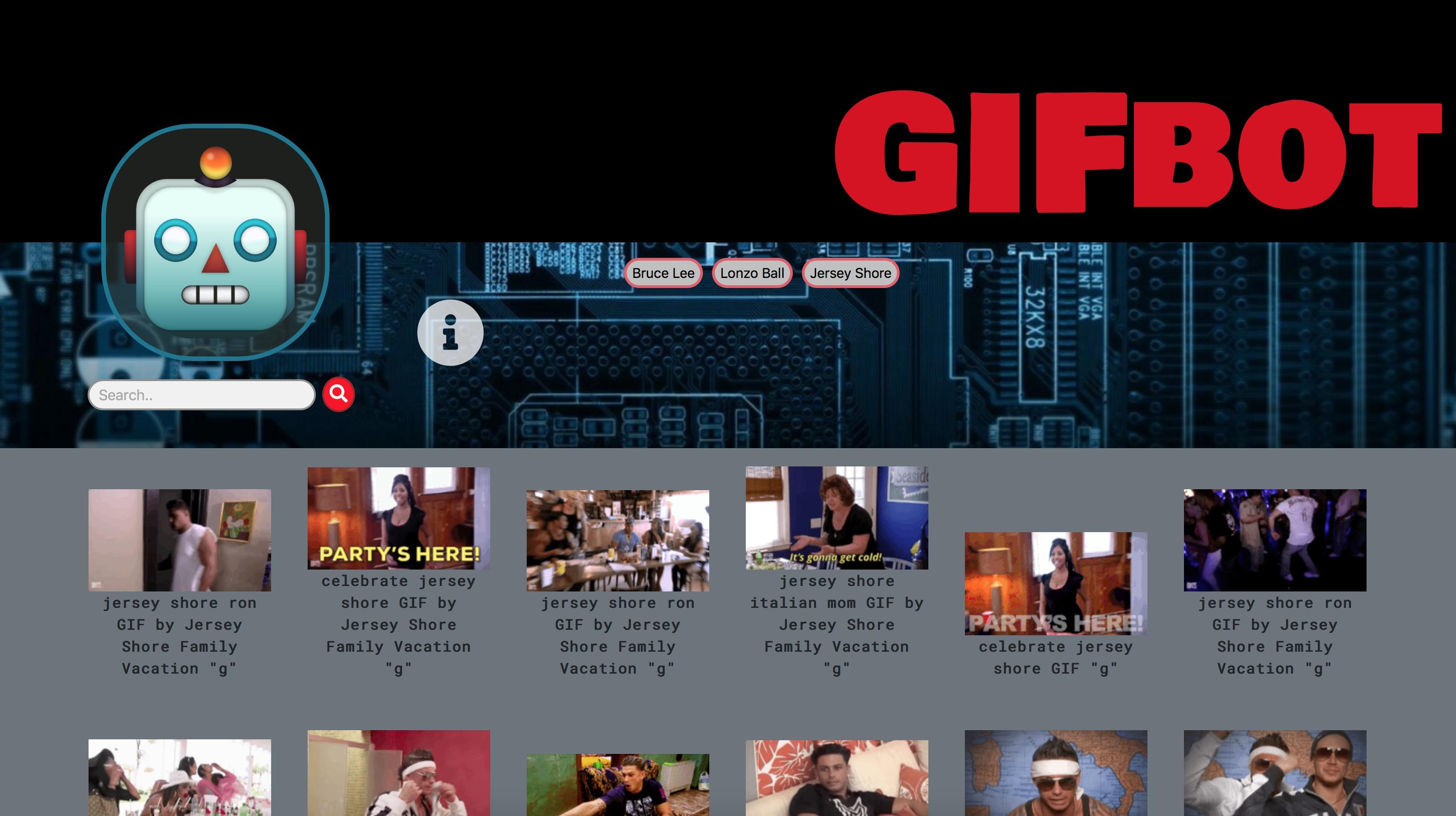 Gif Bot Web App