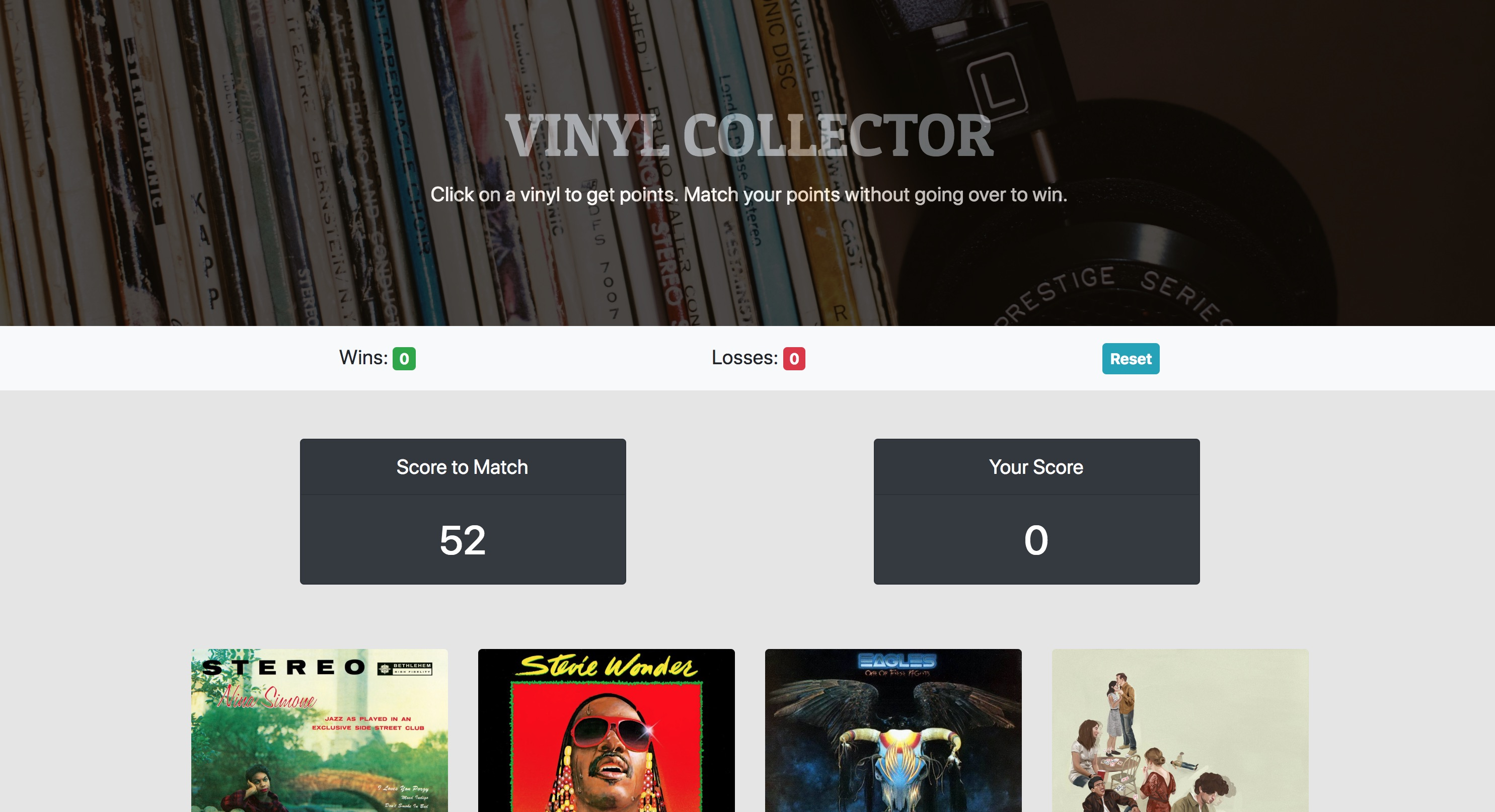 Vinyl Collector Web App