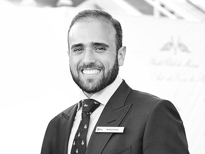 Portrait of Abdullah Nahar