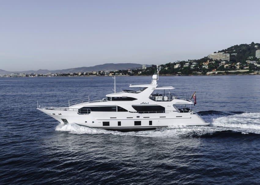 Image of Adel 28.5m (93.7ft) motor yacht