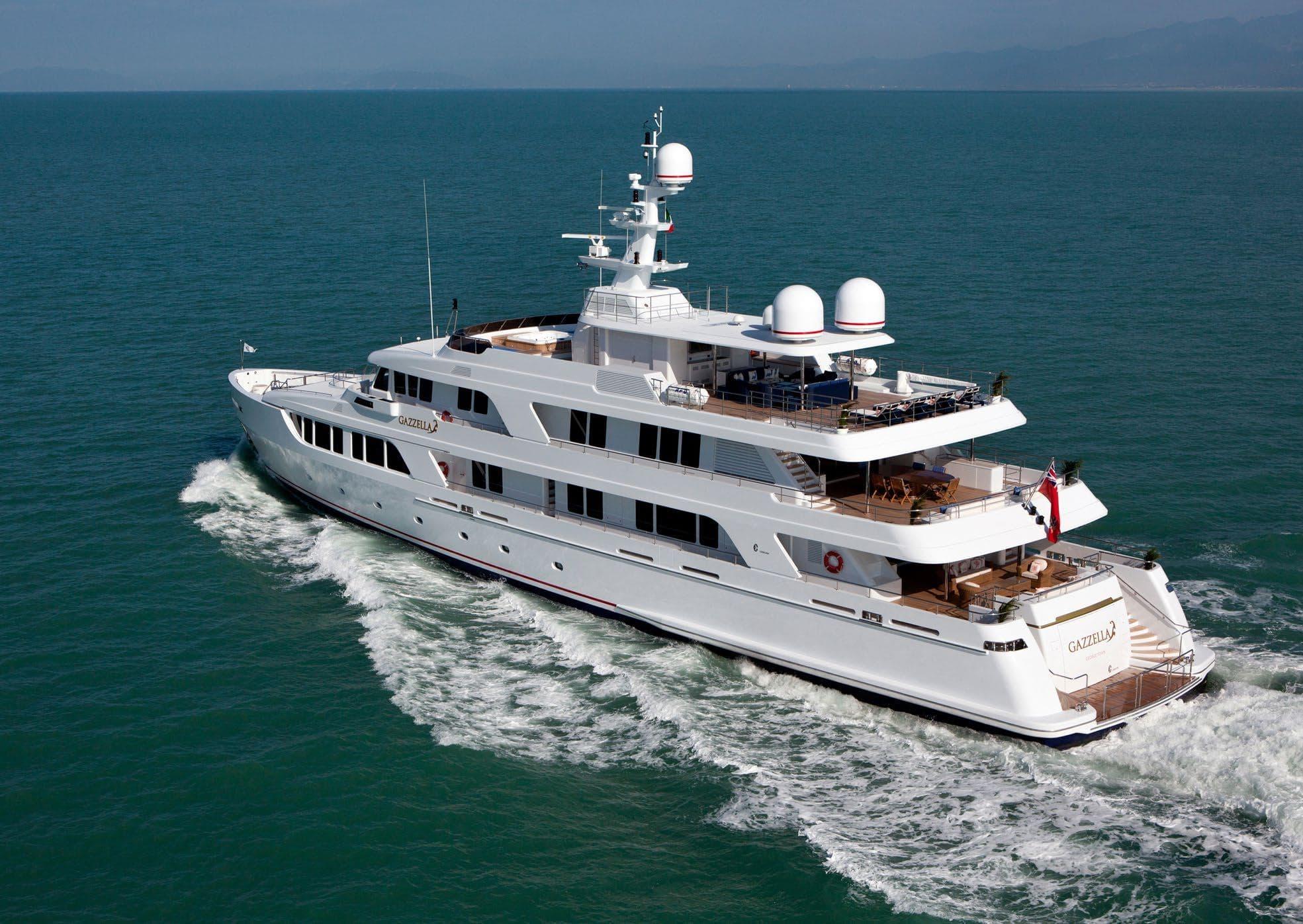 Image of Gazzella II 50.0M (164.0FT) motor yacht