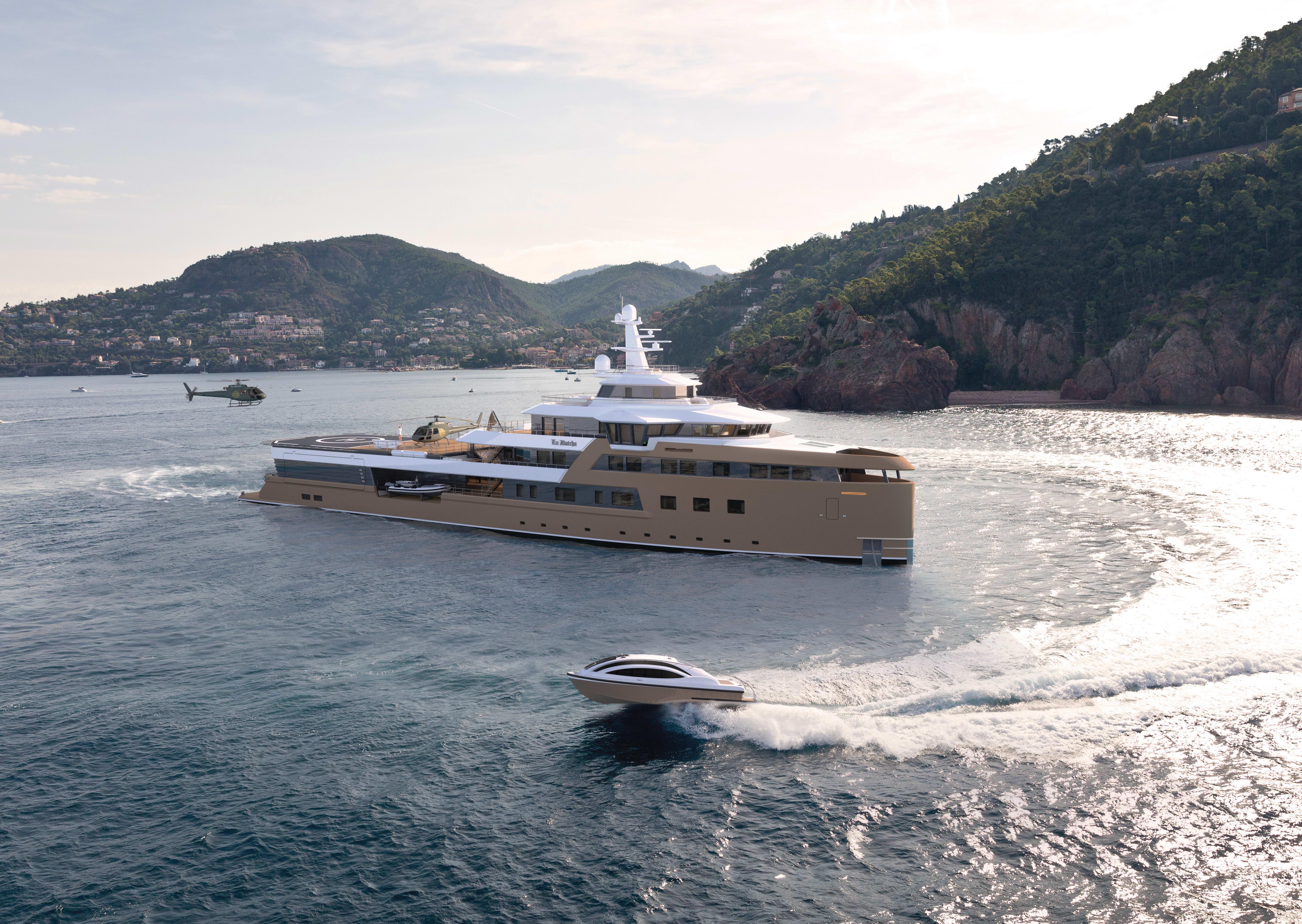 Image of La Datcha 77.0M (252.6FT) motor yacht