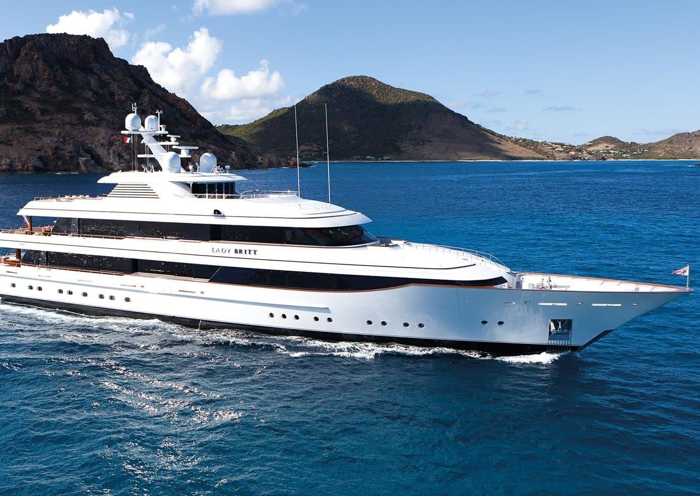 Image of Lady Britt 63.0M (206.7FT) motor yacht