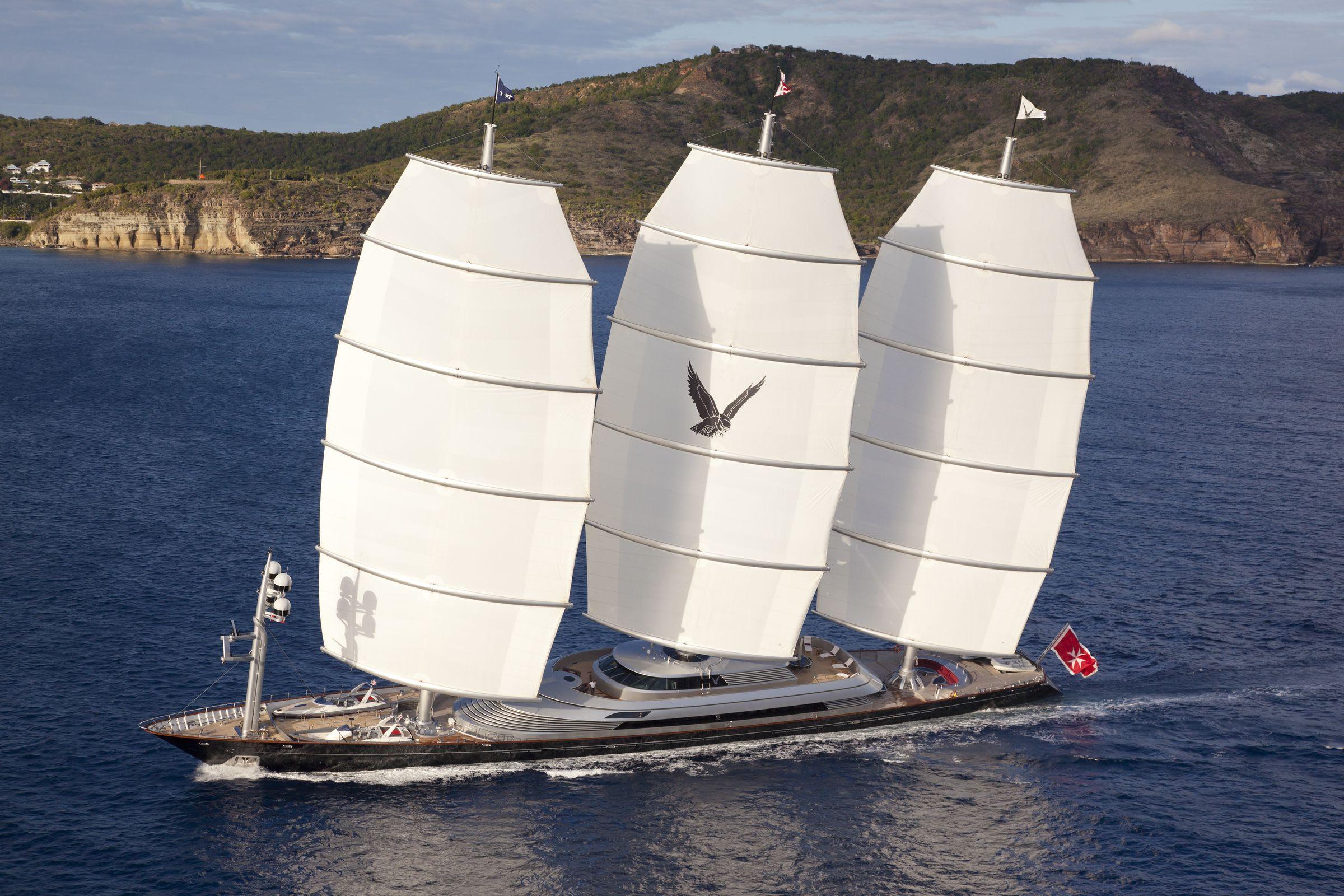 Image of Maltese Falcon 88.0M (288.7FT) sailing yacht