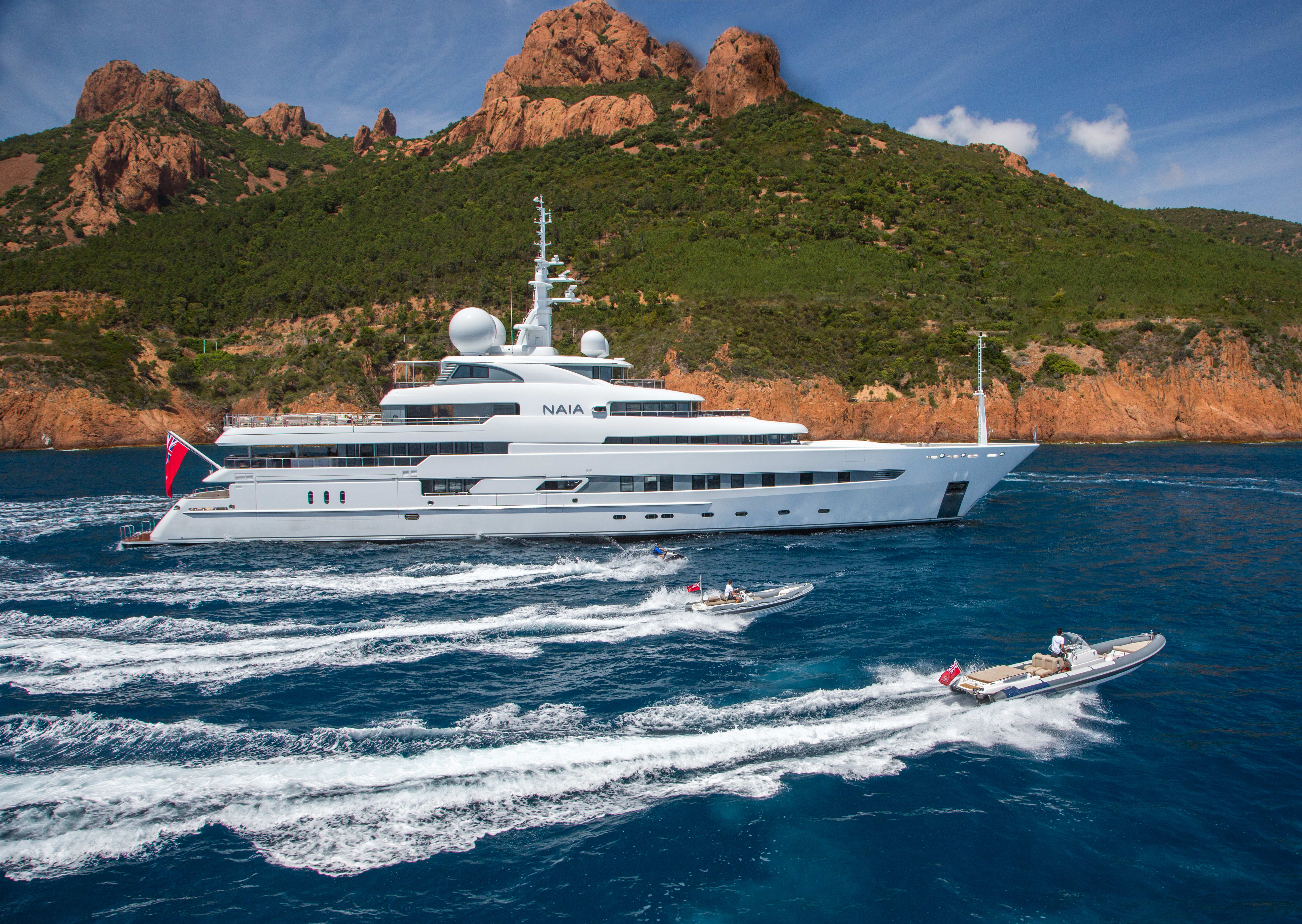 Image of Naia 73.6M (241.5FT) motor yacht