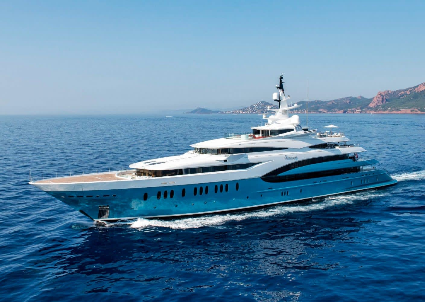Image of Sunrays 85.5M (280.5FT) motor yacht