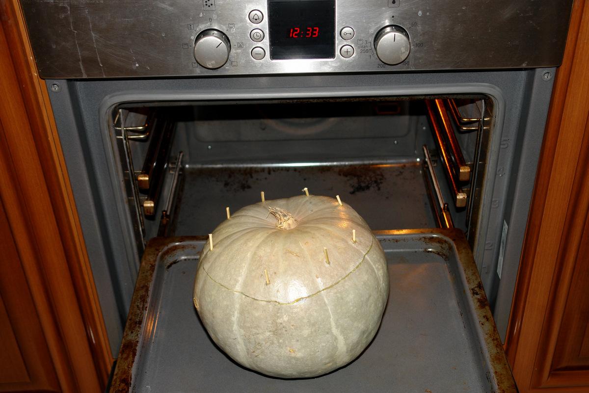 тыква в духовке