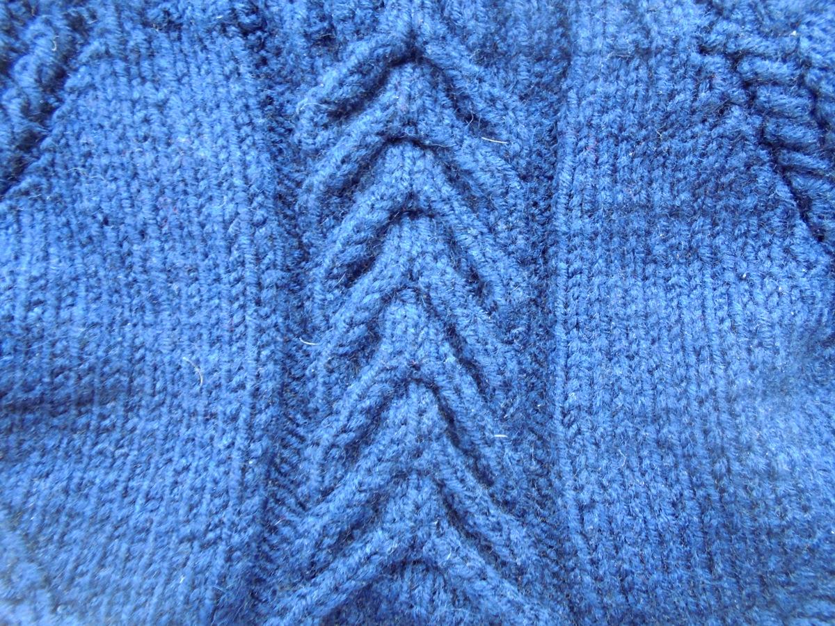 узор мужского шарфа