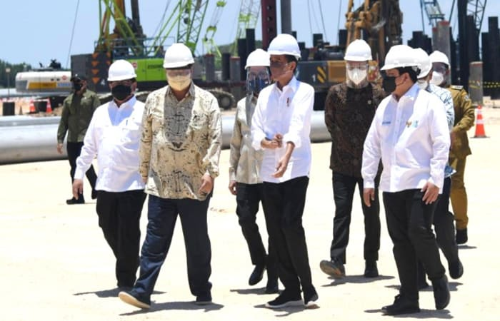 Update, Jokowi Tandai Groundbreaking Smelter Freeport di  Gresik,  Serap 40 Ribu Tenaga Kerja