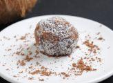 כדור שוקולד מחלב קוקוס