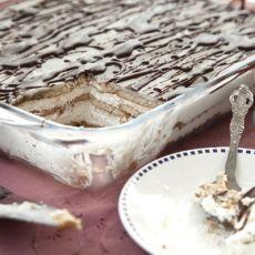 עוגת ביסקוויטים בטעם של ילדות, ללא תוספת סוכר
