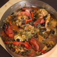 תבשיל עוף מטוסקנה בנוסח ציידים