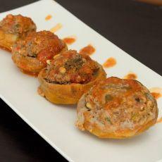 ארטישוק ממולא בשר וצנוברים
