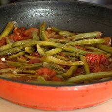 שעועית ירוקה בעגבניות