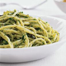 ספגטי פסטו מילאנזי
