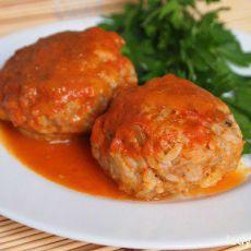 כדורי בשר ברוטב עגבניות ביתי וסמיך