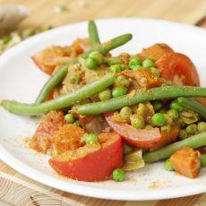 תבשיל קארי ירקות