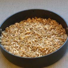 מג'דרה- תבשיל אורז ועדשים ירוקות