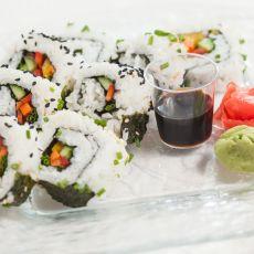 סושי צמחוני במילוי שלל ירקות לבחירה