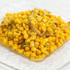תירס ברוטב צהוב