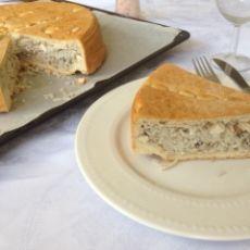 פרדה פילבי - מאפה עוף ואורז שקדים וצנוברים