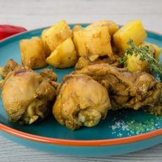 עוף סופריטו - קדירת עוף ותפוחי אדמה