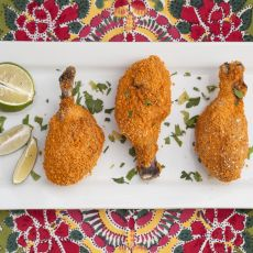 שוקי עוף בציפוי קריספי אפויים בתנור
