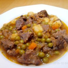 בשר עם ירקות (אורמן קבב)