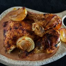 עוף צלוי בתבלינים או בצ'ילי מתוק