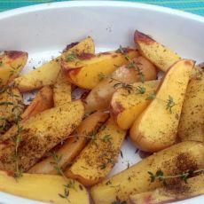 תפוחי אדמה אפויים בתנור - חדש
