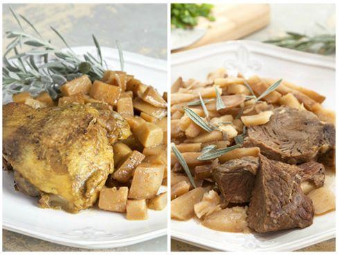 """""""סופריטו"""" - תבשיל עוף/בקר ותפוחי אדמה"""