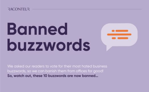 Banned buzzwords