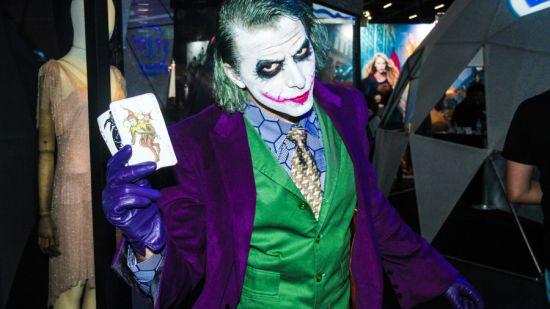 The joker at Comic-con