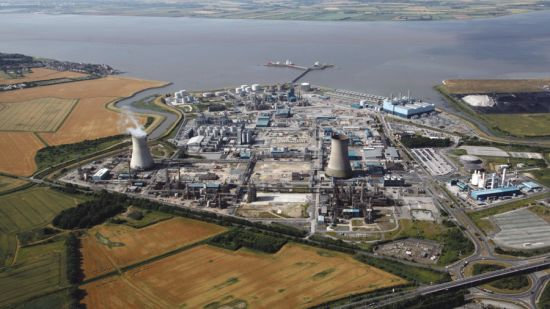 Saltend chemicals plant hull
