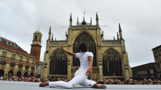 City of Culture Hull Minster royal ballet performance