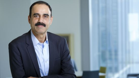 Ajay Bhalla of Mastercard's headshot