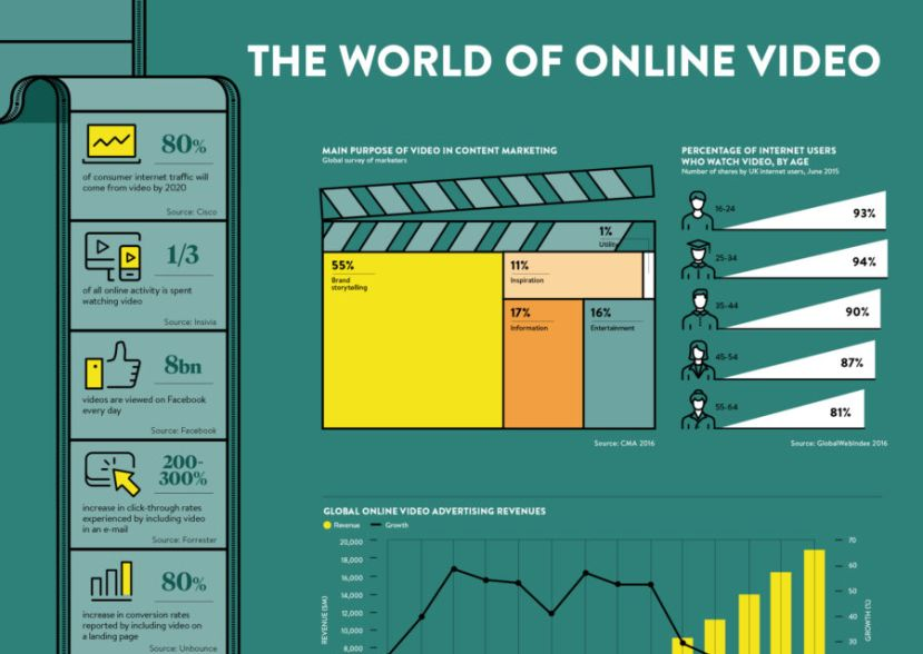 The world of online video