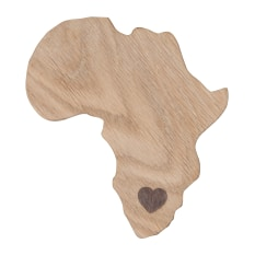Laid Back Company Africa Coasters, Set of 4