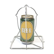 Big Green Egg Folding Beer Can Vertical Chicken Rack