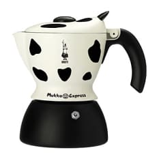 Bialetti Mukka Cow Spotted Express Espresso Maker, 2 Cup